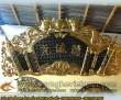 Cuốn Thư,Hoành Phi,Đức Lưu Quang,chất liệu đồng vàng