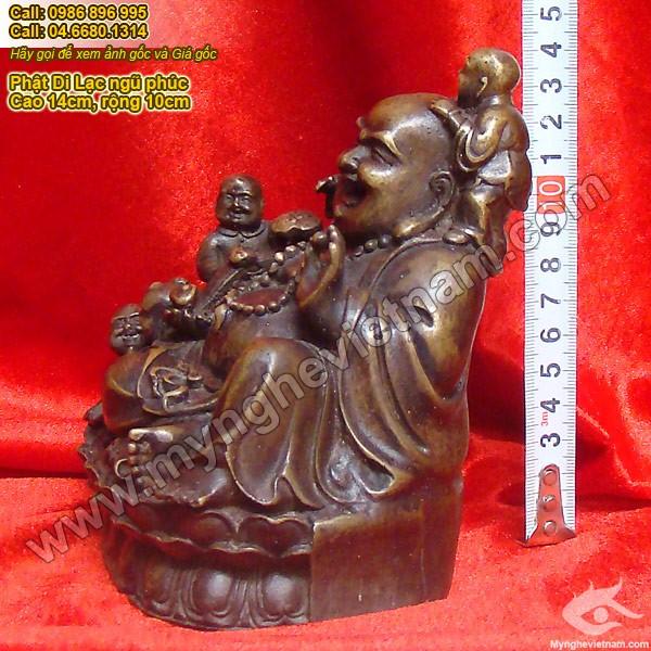 Phật Di Lạc bế trẻ, Tượng Di lặc và năm đứa trẻ, Di lặc bằng đồng, phật di lặc thờ cúng