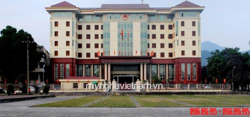 sản xuất lắp đặt công an hiệu quốc huy quân đội cho tòa nhà