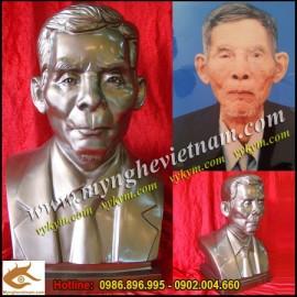 Sản phẩm tháng 8-2012,Đúc tượng, tạc tượng chân dung, bán thân,điêu khắc tượng