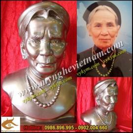 Sản phẩm đúc tháng 8-2012,Đúc tượng, tạc tượng chân dung, bán thân,điêu khắc tượng