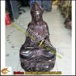 Tượng đồng Phật Bà Quan Âm Bồ Tát, Cao 45cm,đồng hun
