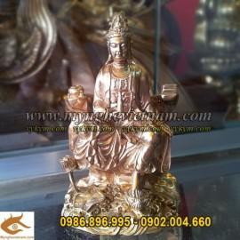 Tượng Phật Bà Quan Âm cao 10cm
