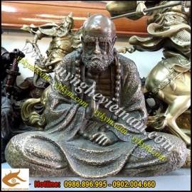 Tượng Đạt ma sư tổ cao 30cm,tượng thờ bằng đồng