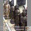 Tượng tam thánh phật, tây phương tam thánh, cao 1m, nơi bán các sản phẩm tượng đồng, phật a di đà, phật quan âm, dược sư bồ tát