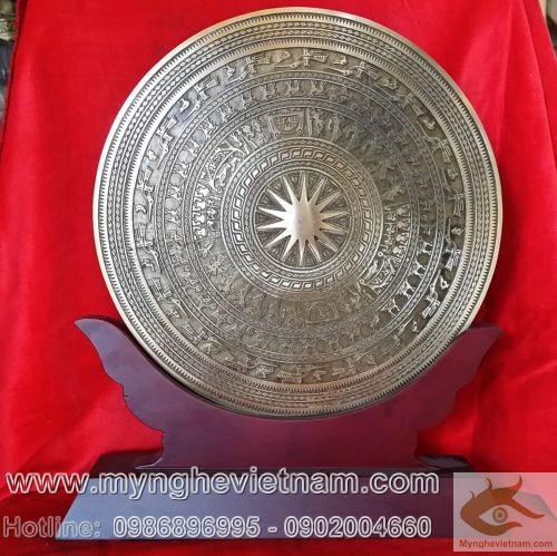 đồ lưu niệm, đĩa đồng đúc,Đĩa đồng quà tặng, mặt trống đồng, quà tặng đối ngoại, quà tặng đối tác, quà tặng lưu niệm