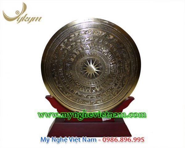 đĩa biểu trưng mặt trống đồng quà tặng