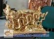 Tượng quà tặng Rồng Thời Lý, tượng rồng đồng mạ vàng, quà tặng lưu niệm cao cấp