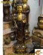 Tượng Tây phương tam thánh,Bộ tam thánh phật, tượng đồng thờ cúng, cao 105cm