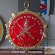 Sản xuất huân huy chương cỡ to, huân chương lao động, huân chương quân công, huân chương chiến đấu, treo phòng họp, hội trường