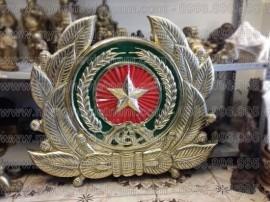 Đúc huy hiệu công an, công an hiệu, logo ngành công an, cảnh sát, kt 75x88cm