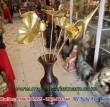 Hoa sen đồng thờ cúng loại to bày bàn thờ gia đình