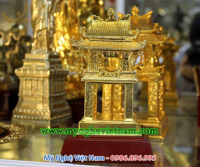 Tượng khuê văn các mạ vàng 18k mạ vàng 24k 99990