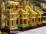 biểu tượng khuê văn các mạ vàng cao cấp quà lưu niệm bằng đồng