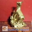 Tượng dê đồng 15cm, tượng quà tặng năm Mùi