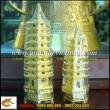 Tháp văn xương bằng đồng mạ vàng, tháp phong thủy