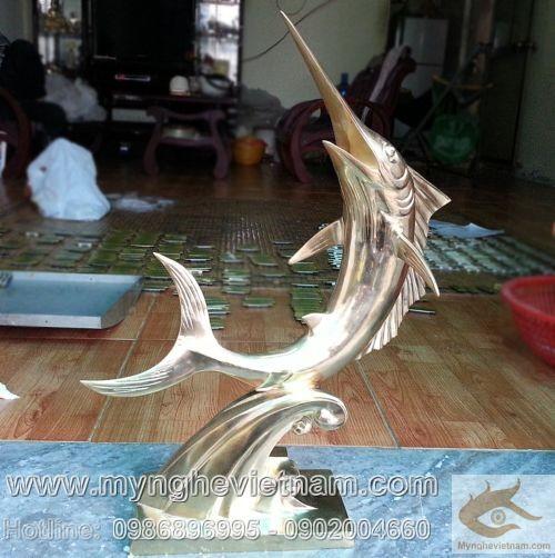 Tượng cá heo đồng, tượng trang trí nghệ thuật