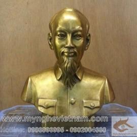 Tượng Bác Hồ cao 20cm, tượng bán thân bác hồ