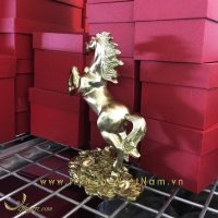 tượng ngựa đồng phi thiên đứng tiền 3