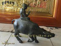 tượng mục đồng cưỡi trâu, tượng trâu đồng phong thủy 1