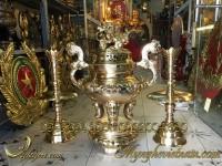 đỉnh đồng thờ cúng cao cấp làng nghề đánh vàng bóng 2
