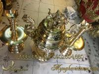 đỉnh đồng thờ cúng cao cấp làng nghề đánh vàng bóng 3