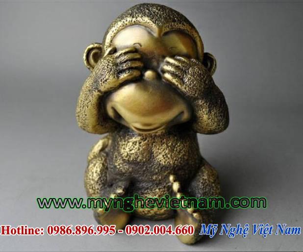tượng khỉ đồng tứ không, bộ tượng tứ đại giai không 3
