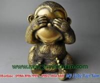 tượng khỉ đồng tứ không, bộ tượng tứ đại giai không 4
