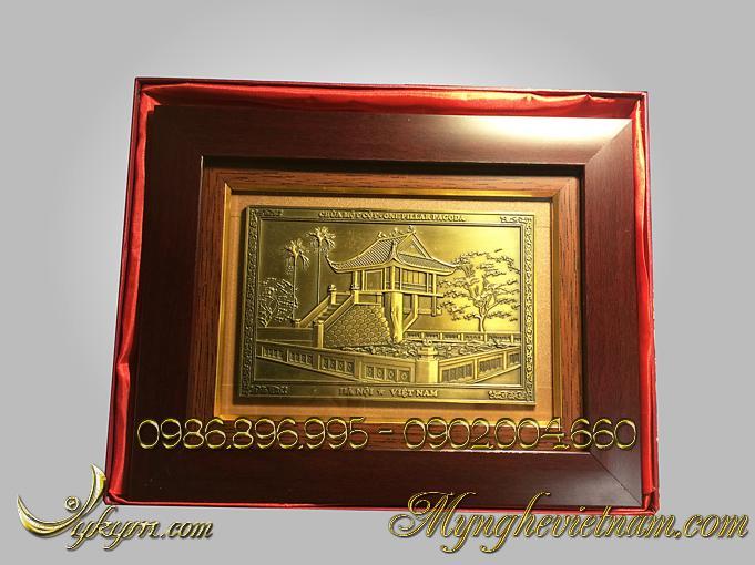 tranh quà tặng khuê văn các chùa 1 cột