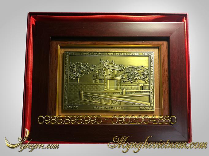 tranh quà tặng khuê văn các chùa 1 cột 2