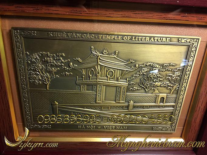tranh quà tặng khuê văn các chùa 1 cột 3