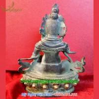 tượng hoàng thần tài bằng đồng giả cổ mật tông 3