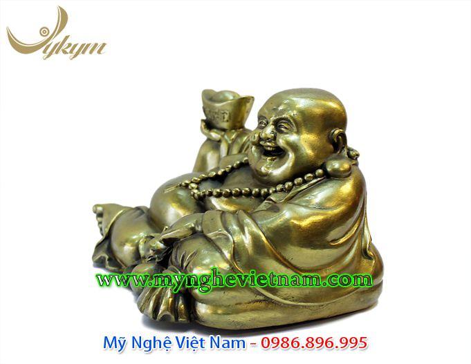tượng phật di lặc bê thỏi vàng kim nguyên bảo 1
