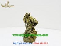 tượng thần chung quỳ bắt ma, tượng đồng chấn trạch trừ tà ma quỷ