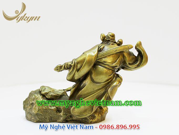tượng thần chung quỳ bắt ma, tượng đồng chấn trạch trừ tà ma quỷ 2