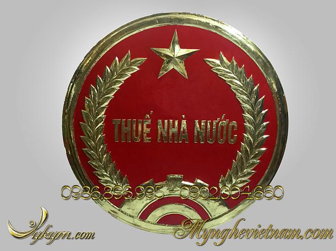 huy hiệu thuế nhà nước, logo đồng chi cục thuế nhà nước