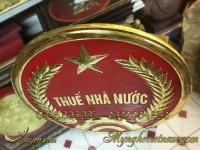 huy hiệu thuế nhà nước, logo đồng chi cục thuế nhà nước 3