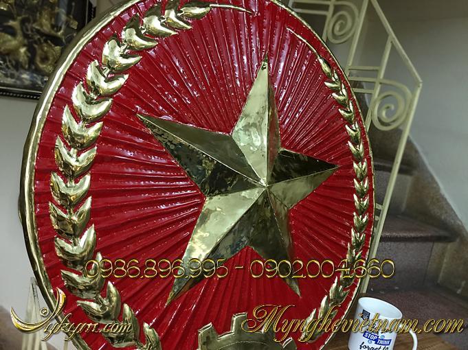 quân hiệu việt nam,huy hiệu quân đội treo cổng trại 2