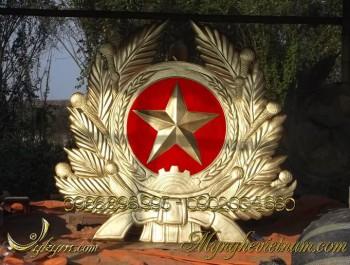 huy hiệu quân đội bằng đồng, quân đội nhân dân việt nam 1