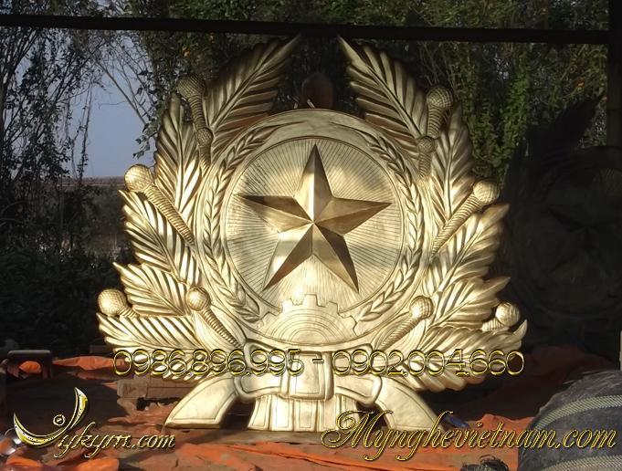 huy hiệu quân đội bằng đồng, quân đội nhân dân việt nam 3