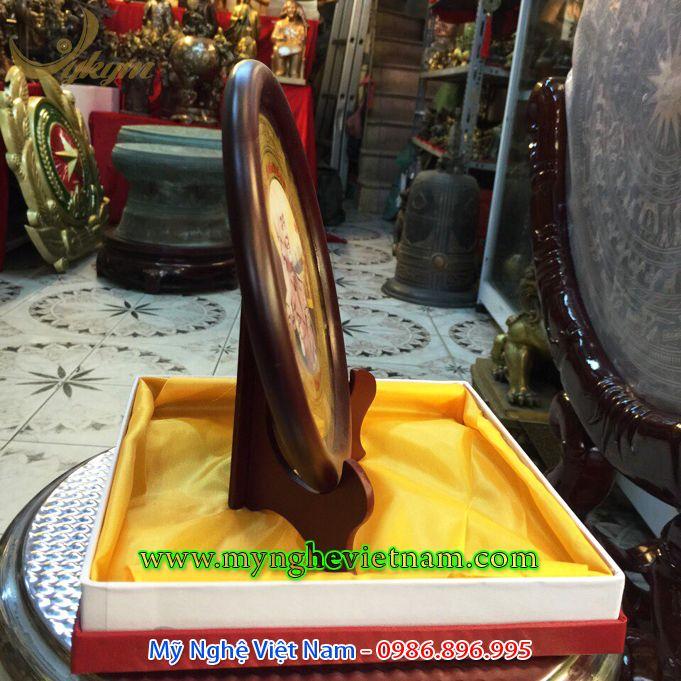 đĩa quà tặng in hình đại tướng võ nguyên giáp 1