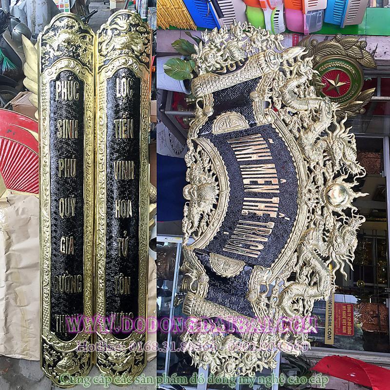 Hoành phi câu đối Vĩnh Miên Thế Trạch tiếng Việt0
