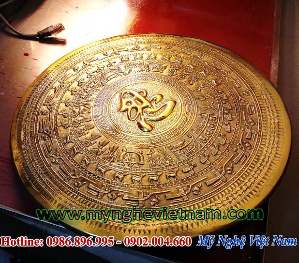mặt trống đồng chữ nhẫn đk 40cm 2