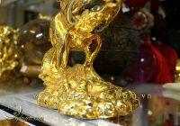 tượng ngựa đồng bay, ngựa có cánh mạ vàng 2