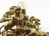 tượng ngũ hổ bằng đồng cao cấp 1