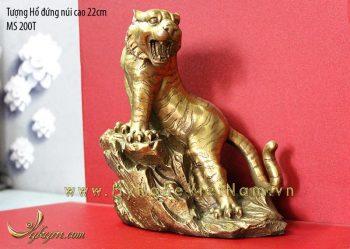 tượng hổ đồng phong thủy 22cm