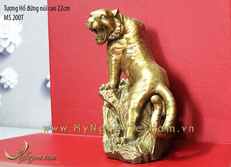 tượng hổ đồng phong thủy 22cm 1
