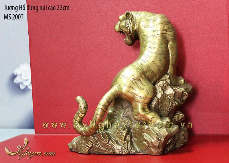 tượng hổ đồng phong thủy 22cm 2