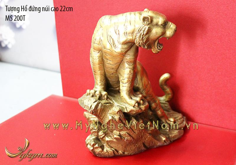 tượng hổ đồng phong thủy 22cm 3