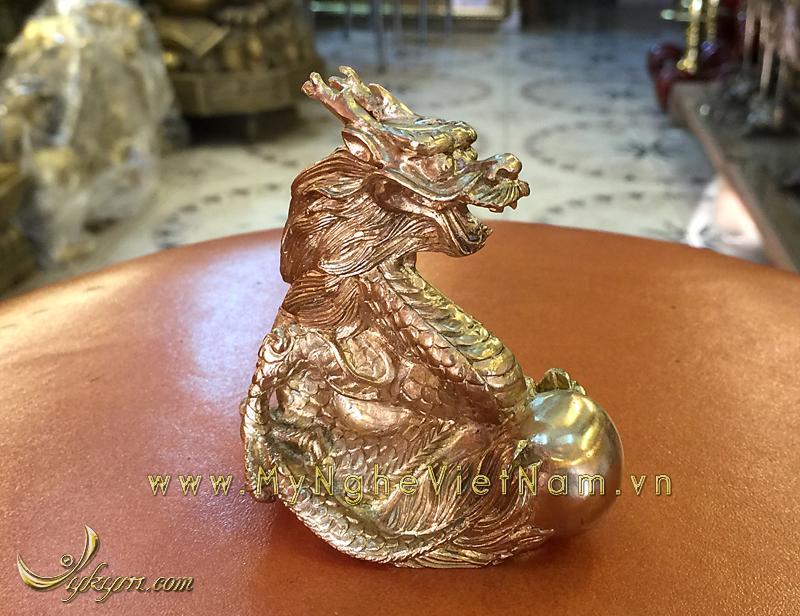 tượng 12 con giáp bằng đồng, tượng rồng đồng 2